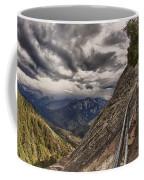 Stormy Skies On Moro Rock Coffee Mug