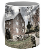 Stormy Skies Over The 1823 Grist Mill Coffee Mug