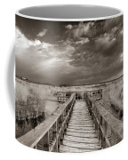 Stormy Weather At The Lake Vintage Coffee Mug