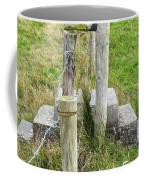 Straddle The Fence Coffee Mug