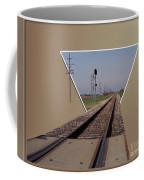 Straight As A Rail Coffee Mug