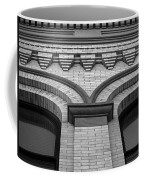 Straight Up Perspective - Black And White Coffee Mug