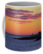 Straitsmouth Lighthouse Sunrise Coffee Mug