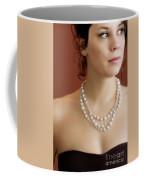 Strand Of Pearls Coffee Mug by Margie Hurwich