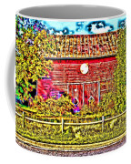 Strange Day At The Barn Coffee Mug