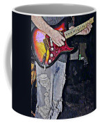 Strat Man  Coffee Mug by Chris Berry