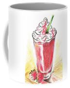 Strawberries And Cream Coffee Mug