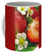 Strawberries And Vanilla Coffee Mug