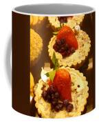 Strawberry Blueberry Tarts Coffee Mug