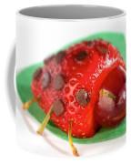 Strawberry Ladybug Coffee Mug