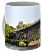 Strawberry Mansion Bridge And The Schuylkill River Coffee Mug
