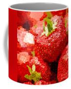 Strawberry Mosaic Coffee Mug