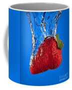 Strawberry Slam Dunk Coffee Mug by Susan Candelario