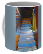 Stray Breeze On The Stairs Coffee Mug