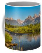 Stream At The Tetons Coffee Mug