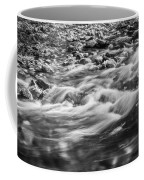 Stream Fall Colors Great Smoky Mountains Painted Bw  Coffee Mug