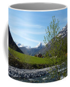 Stream To The Fjord Coffee Mug