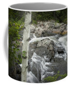 Stream With Waterfall In Vermont Coffee Mug