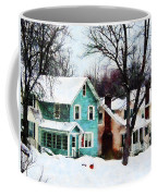 Street After Snow Coffee Mug