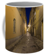 Street Alley By Night Coffee Mug