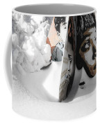 Street Art In The Snow Coffee Mug