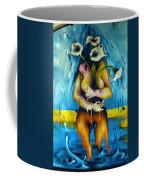 Street Art Valparaiso Chile 2 Coffee Mug