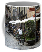 Street Corner Girona Spain Coffee Mug