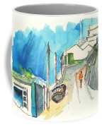 Street In Ericeira In Portugal Coffee Mug