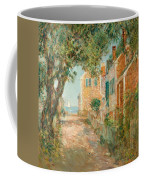 Street In Provincetown Coffee Mug by  Childe Hassam