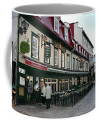 Street In Quebec Coffee Mug