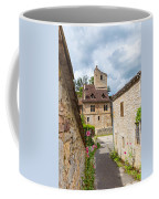Street In Saint-cirq-lapopie Coffee Mug