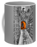 Street In Stone Coffee Mug
