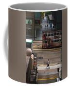 Street Life In Hong Kong Coffee Mug