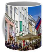 Street Life - Tallin Estonia  Coffee Mug