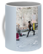 Street Musician Milan Italy Coffee Mug