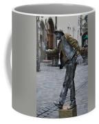 Street Performer In Munich Coffee Mug