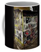 Street Photographer's Shed Icons Us/mexico Border Nogales Sonora  Mexico 2003 Coffee Mug