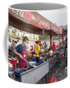Street Restaurant In Phnom Penh Cambodia Coffee Mug