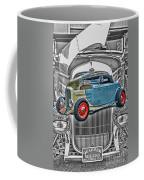 Street Rod In Grill Coffee Mug