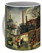Street Scene In Paris, 1926 Coffee Mug