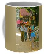 Street Scene In Tachilek-burma Coffee Mug