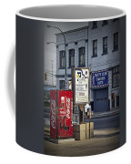Street Scene With Coke Machine No. 2110 Coffee Mug