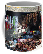 Street Vendor Selling Rosaries Coffee Mug