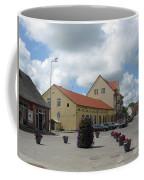 Street View. Silute Lithuania May 2011 Coffee Mug