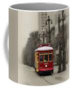 Streetcar On Canal Street - New Orleans Coffee Mug