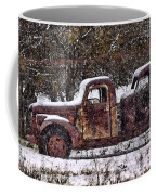 Stretch Limo In The Blizzard Coffee Mug