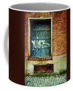Strip District Doorway Number 1 Coffee Mug by Amy Cicconi