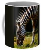 Striped Fractal Coffee Mug