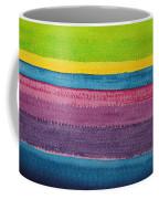Stripes Original Painting Coffee Mug
