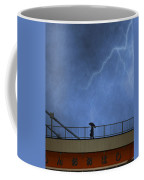 Strolling In The Rain Coffee Mug